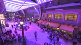 paluba : Cruise ship interior. Promenade deck, boarding walk - Harmony of the Seas
