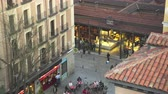 san miguel : Famous San Miguel market at morning. Madrid cityscape - Spain012