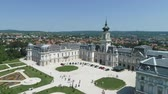 barok : Aerial shot of Castle. Festetics castle - Keszthely, Hungary