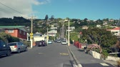 yerleri : Baldwin Street, the steepest street in the world - March 2017: Dunedin, New Zealand