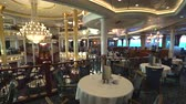 slider bar : Elegant restaurant interior. Cruise ship interior - Royal Caribbean