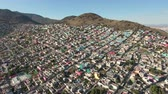 megalopolis : Aerial view of Mexico City, overpopulation - Largest crowded city, Mexico