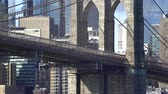 зрелище : Brooklyn Bridge pillar - Manhattan, New York city