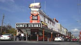 hambúrguer : House of Philadelphia cheese steak sandwich. Ginos steaks - Philadelphia