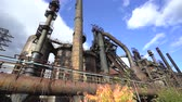 gantry : Abandoned Steel Factory, Industrial Ruin, Monument - Steel Stacks, Bethlehem, Us