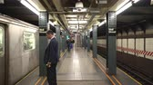 get in : New York City Wall Street subway station - Manhattan