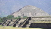 ацтекский : Teotihuacan sun pyramid - Mexico City