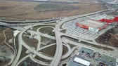 otoyol : top view of road junction, Megamag Rostov-na-Donu