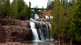 groselha : Gooseberry Falls State Park in Minnesota late autumn on the North Shore of Lake Superior.