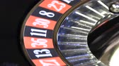 quebrado : Ball in the casino roulette,image with a casino roulette Vídeos