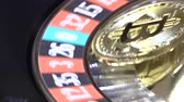servet : Bitcoin in casino roulette bitcoin on the table in the casino