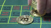 roleta : bitcoin betting in casino roulette table in the casino
