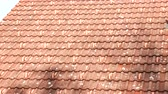 ardósia : tiled roof of the house