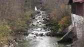 brilho : small mountain river. slow motion Germany