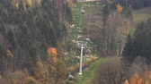 fumier : Cable car in the mountains of Bavaria. Slow motion