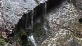 patak : Mountain waterfall in bavaria, slow motion, germany