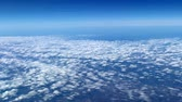 кучевые облака : clouds on the horizon at the height of aircraft