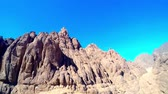 the view of the surrounding of Mount Sinai Wideo