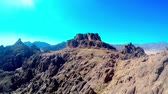 camel : the view of the surrounding of Mount Sinai Stock Footage