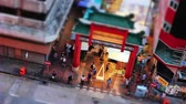 Miniature Effect of temple street