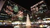 the tsim Sha Tsui, christmas lighting hk 影像素材