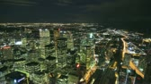 bright night lights : Toronto Skyline Timelapse