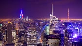 vezes : Midtown Manhattan time lapse at night