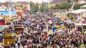 karnaval : MUNICH - SEPTEMBER 30: Theresienweise Fairgrounds during Oktoberfest September 30, 2013 in Munich, Germany. The famed folk festival is the worlds largest fair attracting over 6 million annually.
