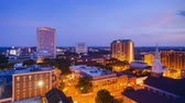 administrativo : Tallahassee, Florida, USA downtown skyline. Stock Footage