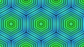 cubic : ornamental geometric caleidoscope hex pattern New quality universal motion dynamic animated colorful joyful dance music video footage loop