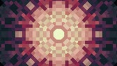 cubic : ornamental geometric block kaleidoscope star moving pattern animation seamless loop New quality retro vintage holiday shape colorful universal motion dynamic animated joyful dance music video footage Stock Footage