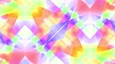 cristal : ornamental kaleidoscope soft crystal abstract animation seamless loop background New quality retro vintage holiday shape colorful universal motion dynamic animated joyful music cool video footage