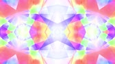 cubic : ornamental kaleidoscope soft crystal abstract animation seamless loop background New quality retro vintage holiday shape colorful universal motion dynamic animated joyful music cool video footage