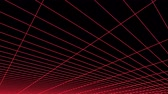 rascunho : retro cyberspace grid net polygonal wireframe flight plain landscape seamless loop drawing motion graphics animation background new quality vintage style cool nice beautiful 4k video footage