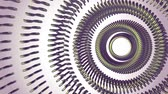 trybiki : Fluid moving rotating green metal chain eye circles seamless loop animation 3d motion graphics background new quality industrial techno construction futuristic cool nice joyful video footage