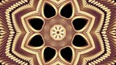 design : ornamental gold metal chain kaleidoscope seamless loop pattern animation abstract background New quality ethnic tribal holiday native universal motion dynamic cool nice joyful music video
