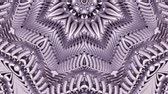 cristal : shiny ornamental metal chain kaleidoscope seamless loop pattern animation abstract background New quality ethnic tribal holiday native universal motion dynamic cool nice joyful music video