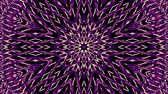 cúbico : shiny ornamental purple metal chain kaleidoscope seamless loop pattern animation abstract background New quality ethnic tribal holiday native universal motion dynamic cool nice joyful music video Vídeos