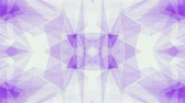 расчет : abstract symmetrical PURPLE poligon shape net shiny cloud animation background new quality dynamic technology motion colorful video footage