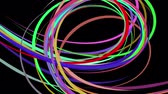 минималист : abstract rainbow color drawn elegant lines stripes beautiful animation background New quality universal motion dynamic animated colorful joyful music video footage
