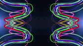 минимализм : abstract rainbow color drawn elegant lines stripes beautiful animation background New quality universal motion dynamic animated colorful joyful music video footage