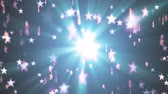 falling down : shiny stars random moving fading animation light background animation new quality vintage universal motion dynamic animated colorful joyful holiday music cool video footage