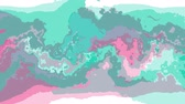 глина : digital turbulent moving abstract color painting seamless loop animation background new unique quality art stylish colorful joyful cool nice motion dynamic beautiful video footage