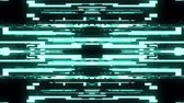 defeito : fast symmetrical horizontal shiny glitch interference screen background for logo animation new quality digital twitch technology pattern colorful video footage