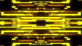 borzalom : fast symmetrical horizontal shiny glitch interference screen background for logo animation new quality digital twitch technology pattern colorful video footage