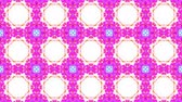 pastel colors : ornamental kaleidoscope moving rainbow shape pattern animation background seamless loop New quality retro vintage holiday shape colorful universal motion dynamic animated joyful music video footage