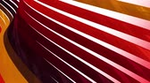 kıvırmak : soft waving glossy stripes fabric abstract lines gentle flow seamless loop animation background new quality dynamic art motion colorful cool nice beautiful video 4k artistic stock footage