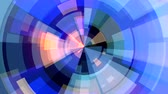 segmento : abstract color moving circle block background seamless loop animation New quality universal motion dynamic animated technological colorful joyful dance music video 4k stock footage