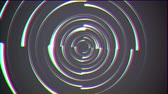 segmento : rainbow color glitch rotating lines drops background animation New quality universal motion dynamic animated technological colorful joyful dance music video 4k 60p stock video footage
