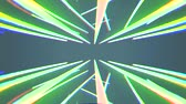 abstract neon lights rotating seamless loop motion graphics animation background new quality techno style colorful cool nice beautiful 4k stock video footage
